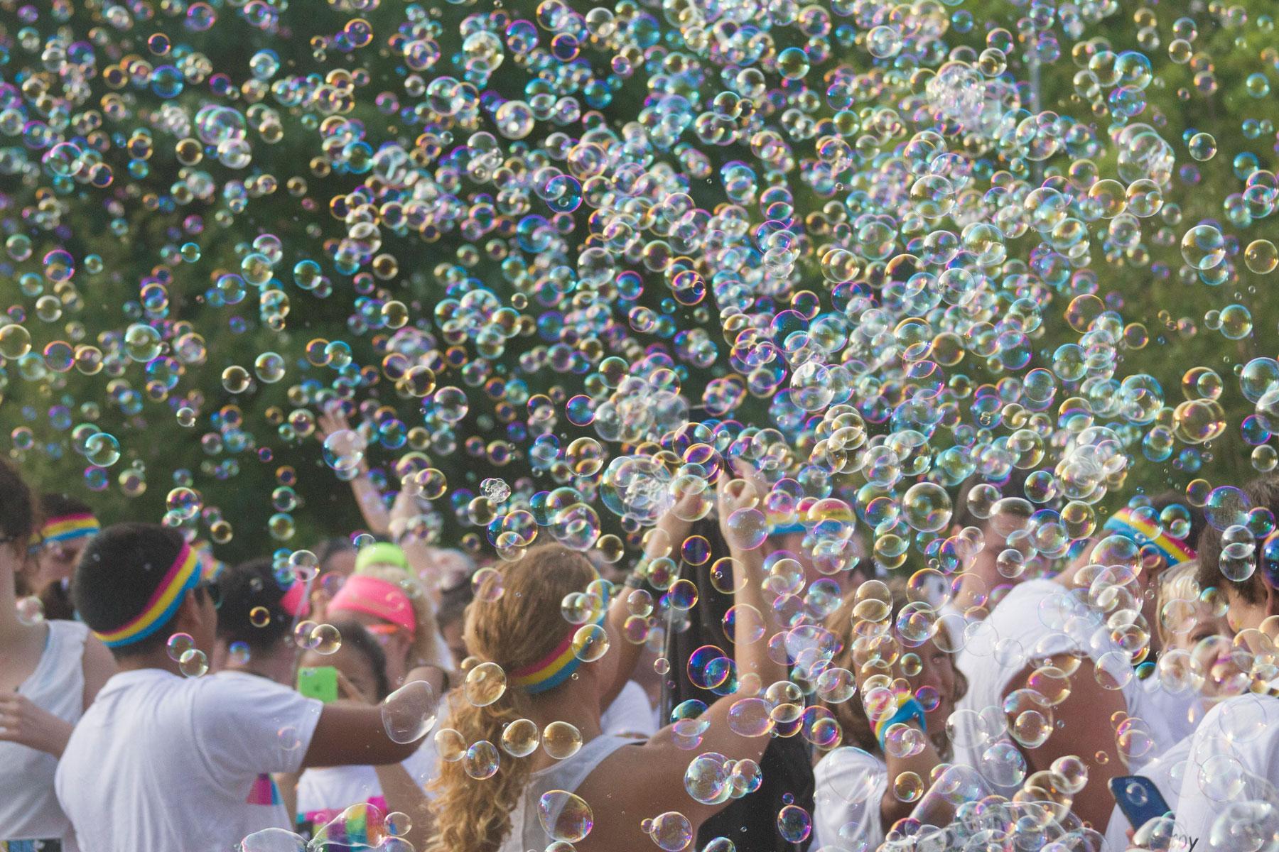 Bubble Me 5k Family Fun Run Chicago Il 2016 Active