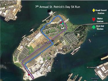 St Patrick S Day Run Ford Island