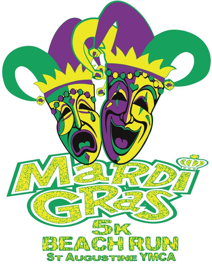 2nd Annual St. Augustine YMCA Mardi Gras Beach Run - Saint ...