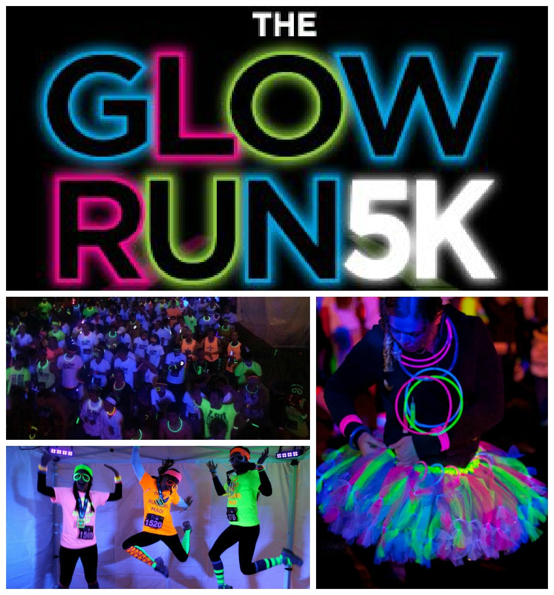 Light Up the Night Glow Run 2016 - Picayune, MS 2016 | ACTIVE