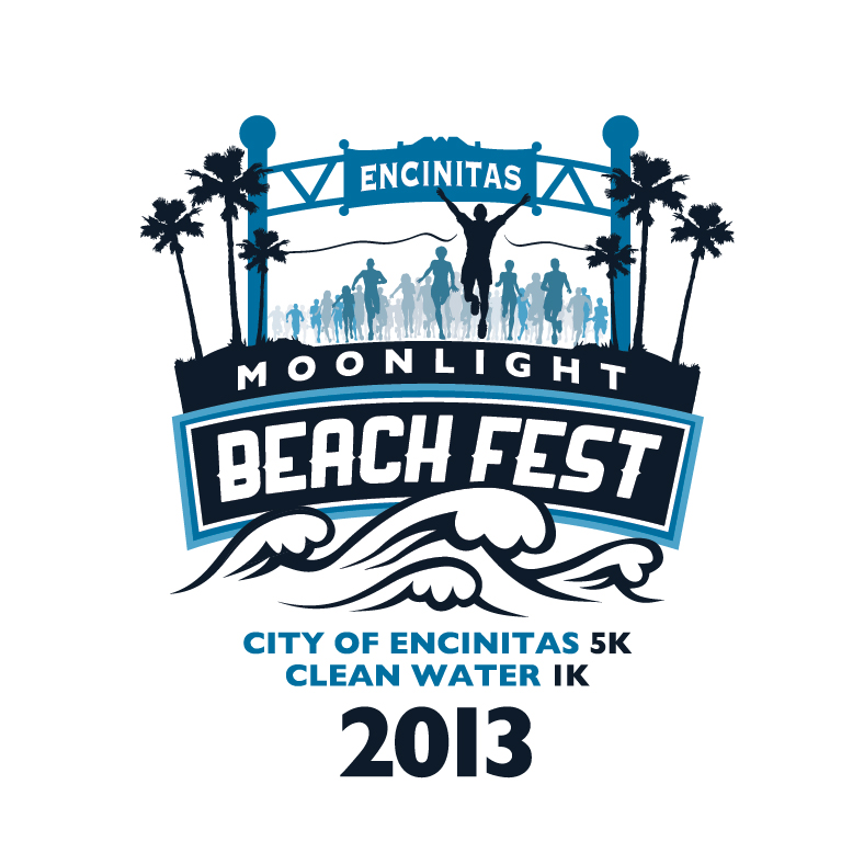 Moonlight Beach Fest - City of Encinitas 5K Run - Clean Water 1K Run