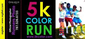 5K Color march 31