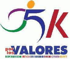 5K POR LOS VALORES APRIL 7