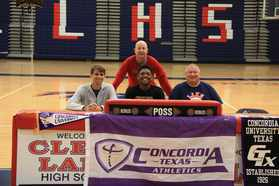 ZAID HARRIS SIGNS WITH CONCORDIA