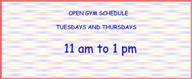 2014 open gym schedule