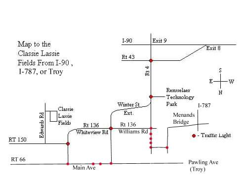 Classie Lassies Map