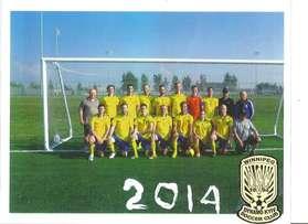 Winnipeg Dynamo Kyiv Soccer Club 2014