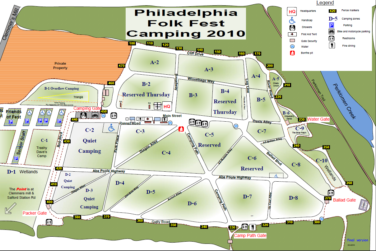 Revised Campground Map 1