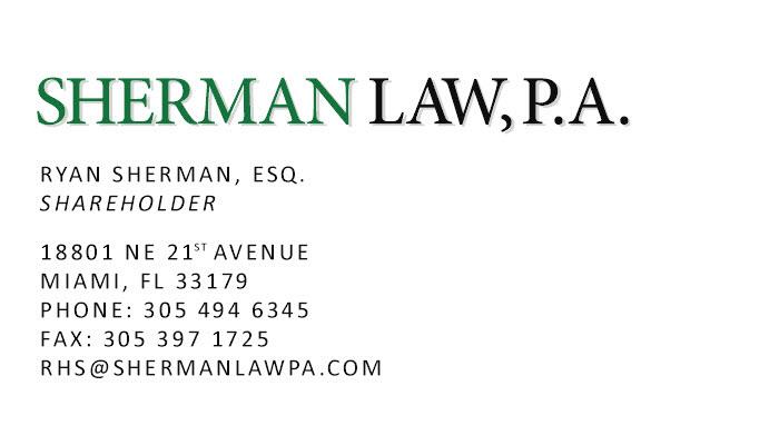 Sherman Law