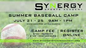 Flyer of Synergy Camp
