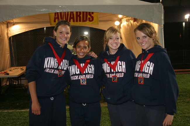 medal girls 2007
