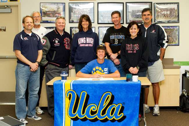 Werley Lane Signing with ucla