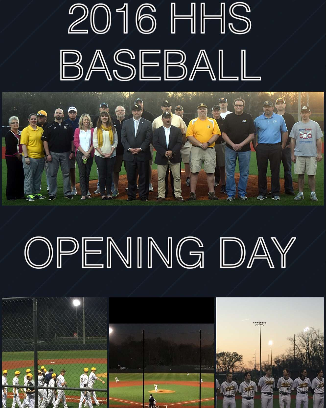 2016 Opening Day Collage