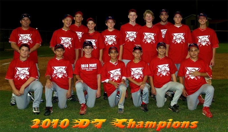 PONY-13 DT Champions