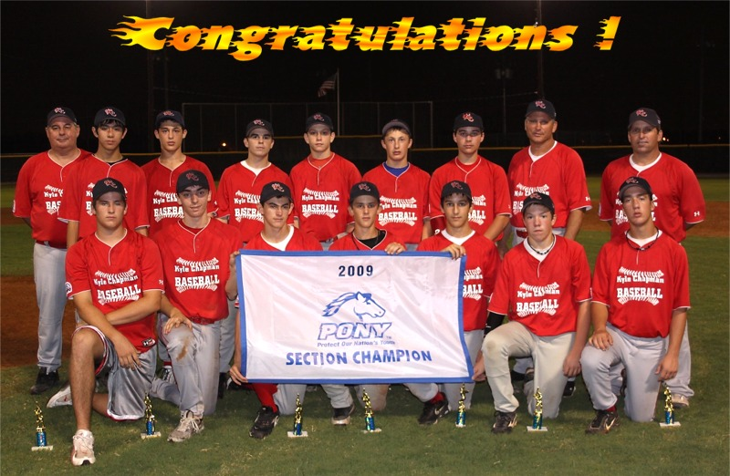 2009 Section Champs