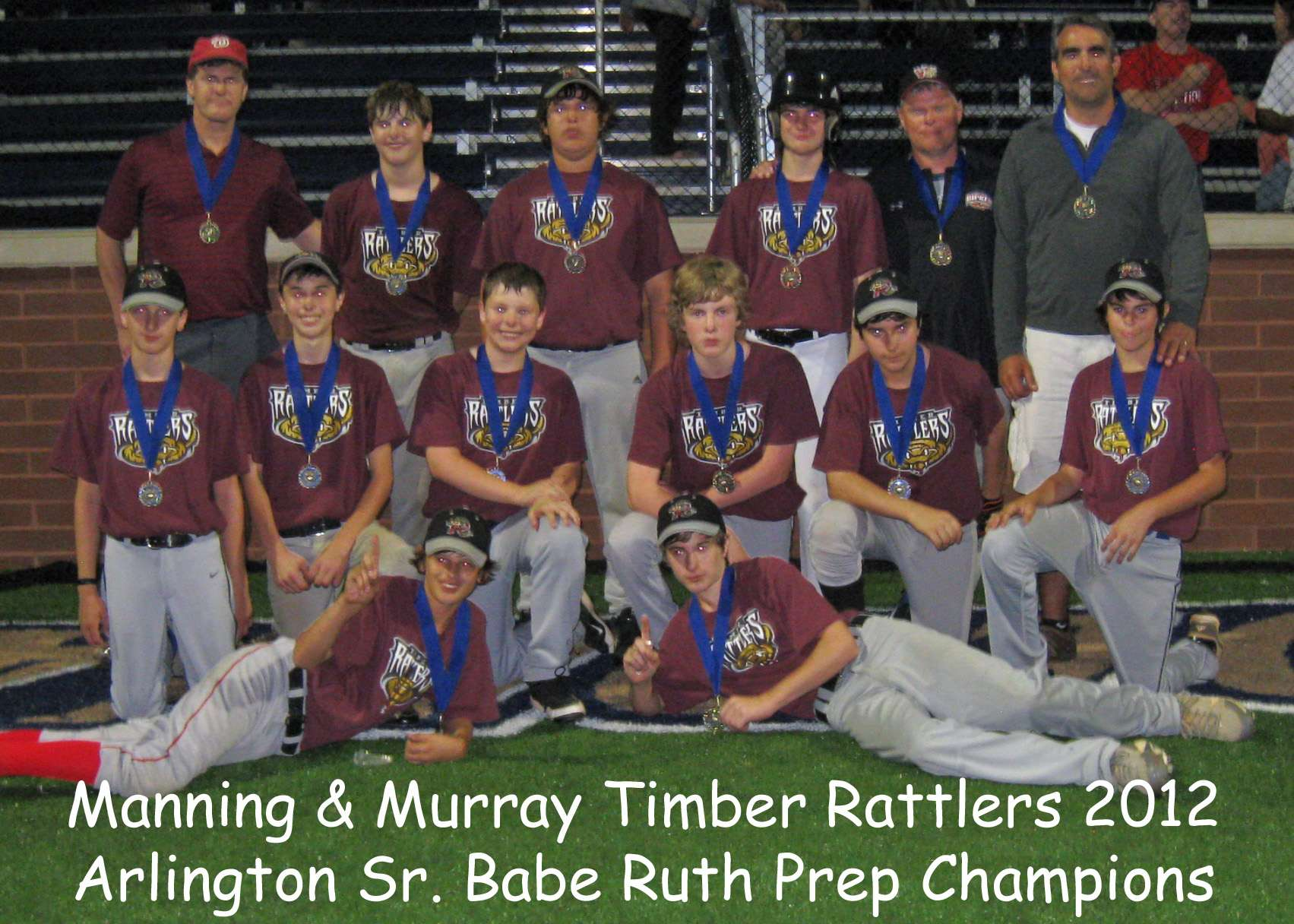 2012 Prep Champs Rattlers