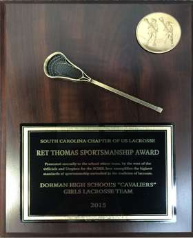 2015 Lacrosse Award