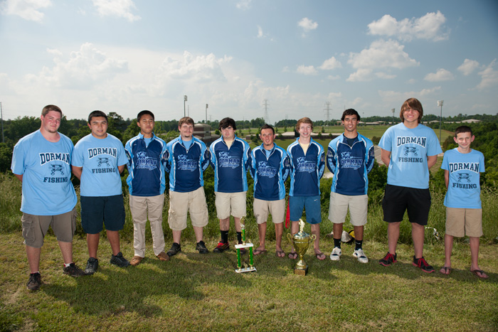 2013 Bass Fishing Team