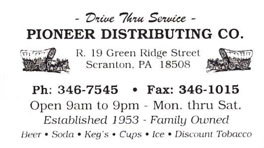 pioneer distributing
