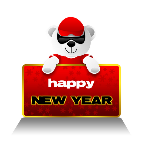 new year bear