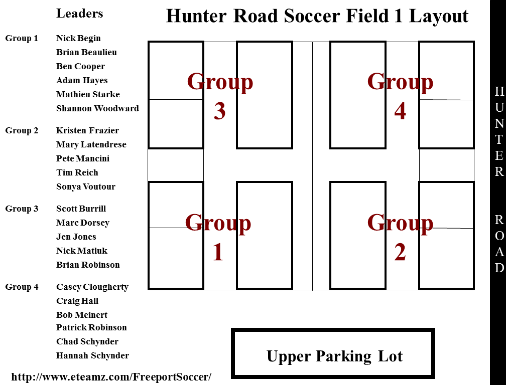Hunter Road Fields 2014