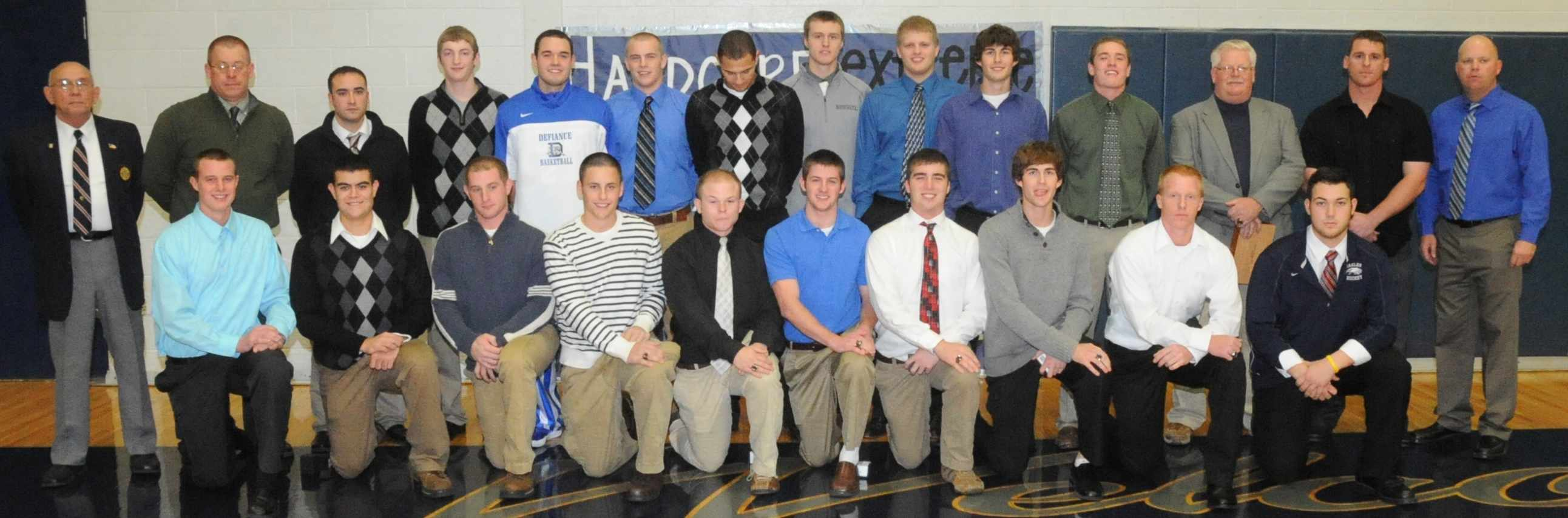 2011 State Champion Ring Ceremony