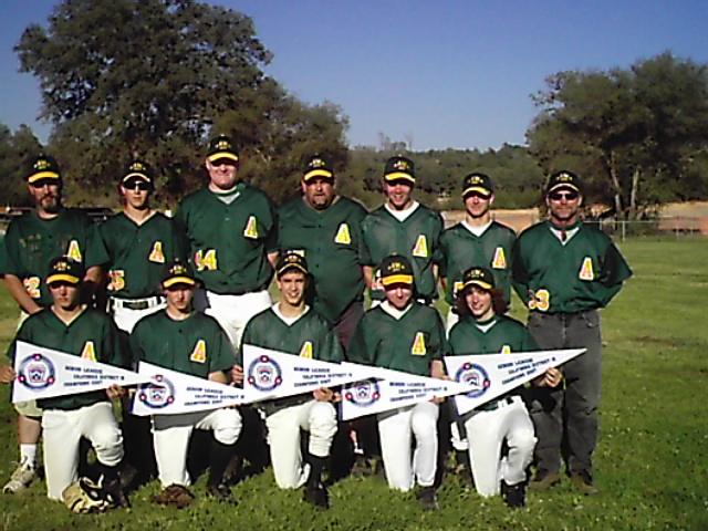 2007 - Amador Seniors