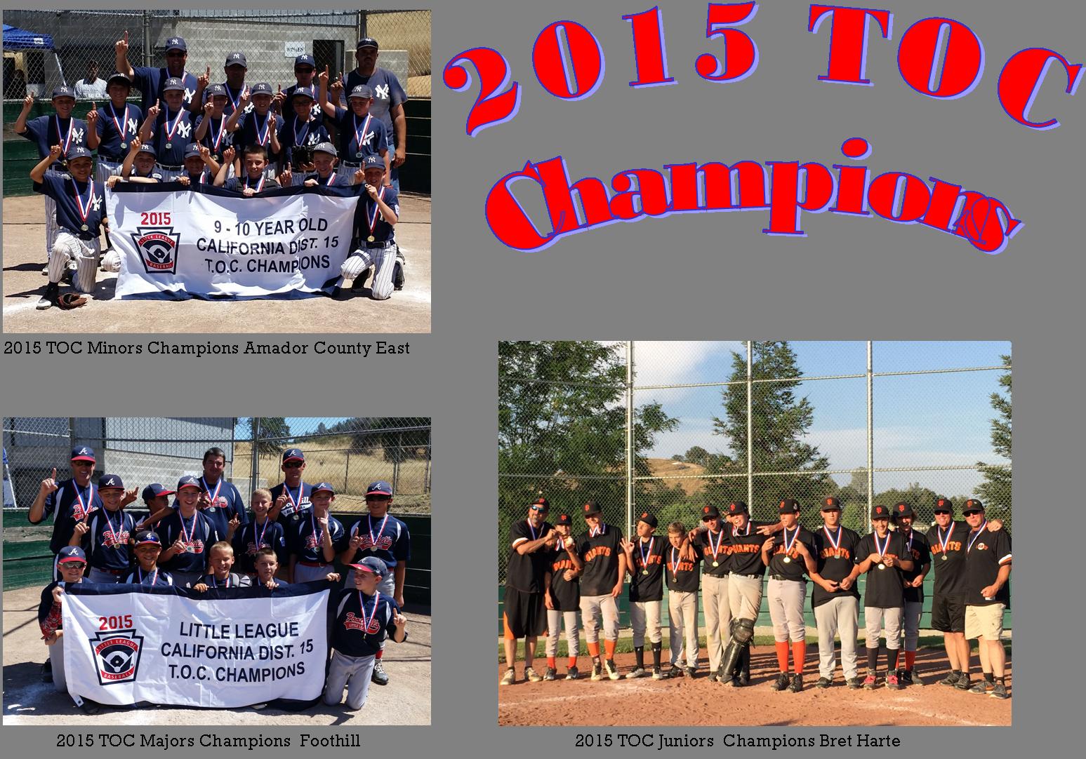 2015 TOC Champions
