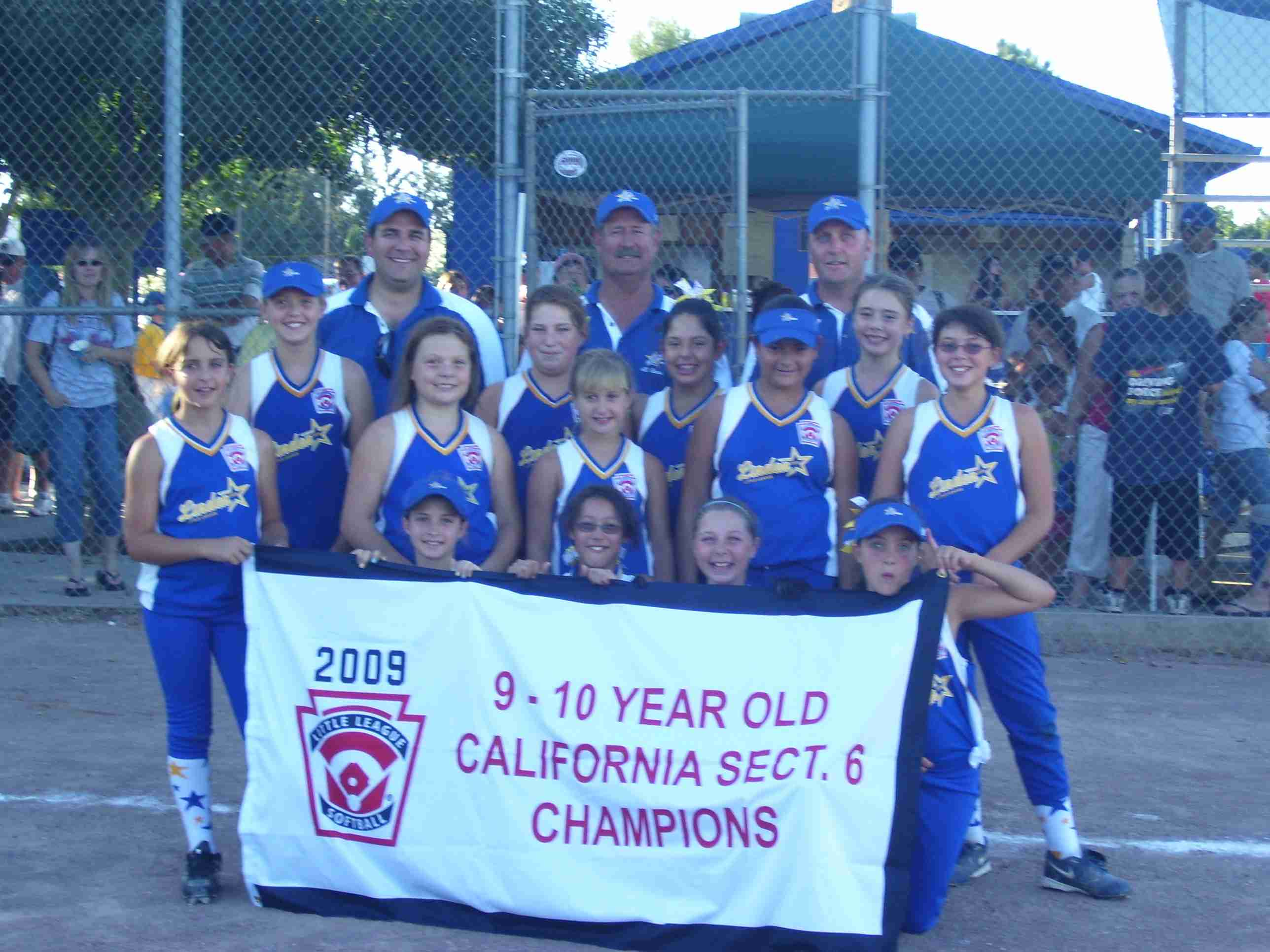 9 & 10 yr old Section 6 Champions