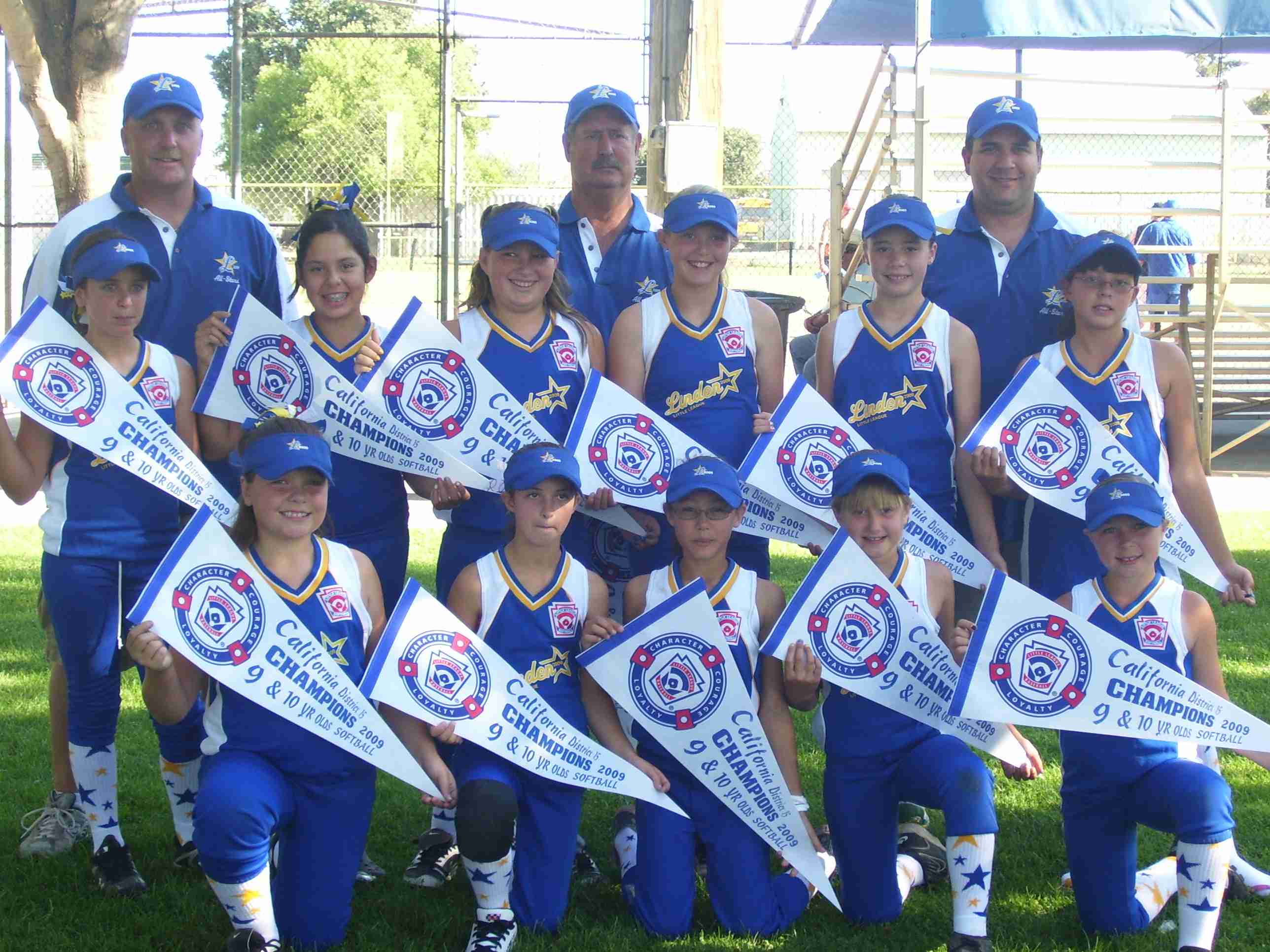 Linden 9 & 10 yr old SB Champions