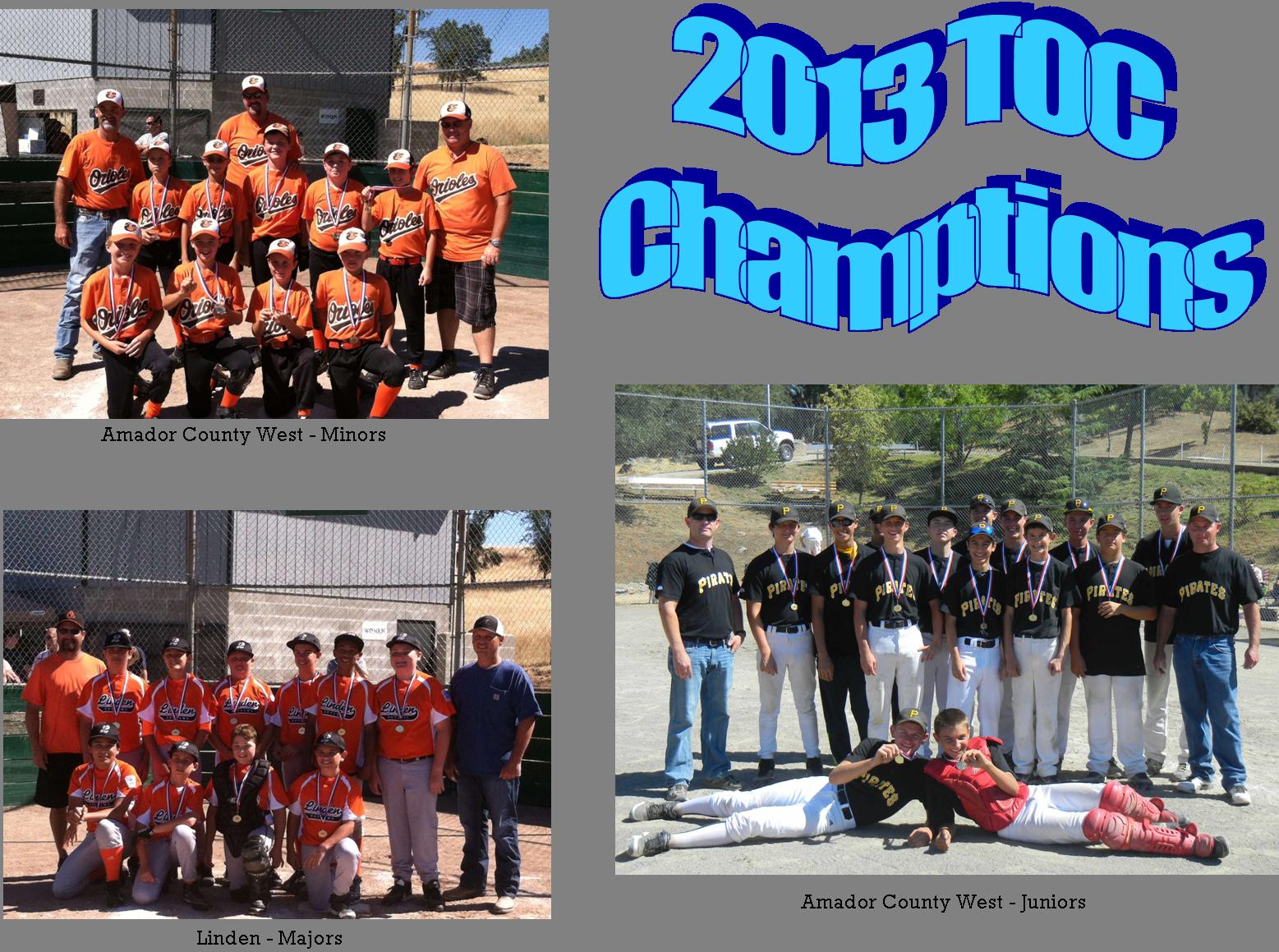 2013 TOC Champtions
