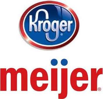 Kroger-Meijer logos