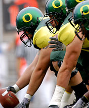 Oregon Ducks O'Line