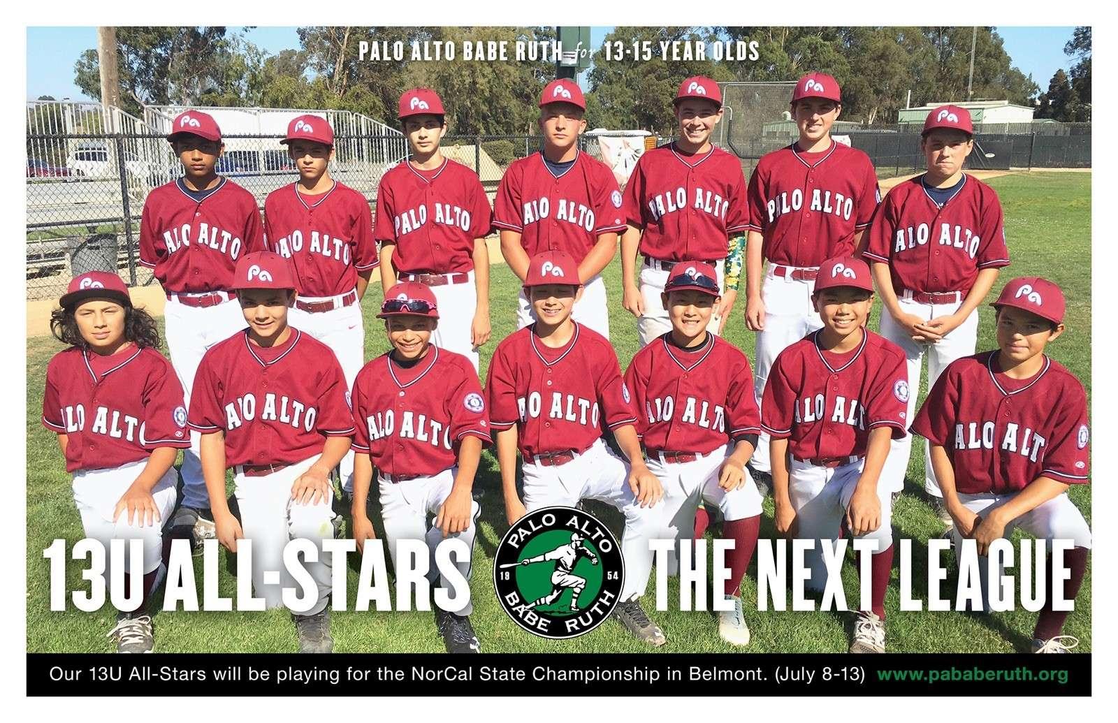 2017 13U All Stars