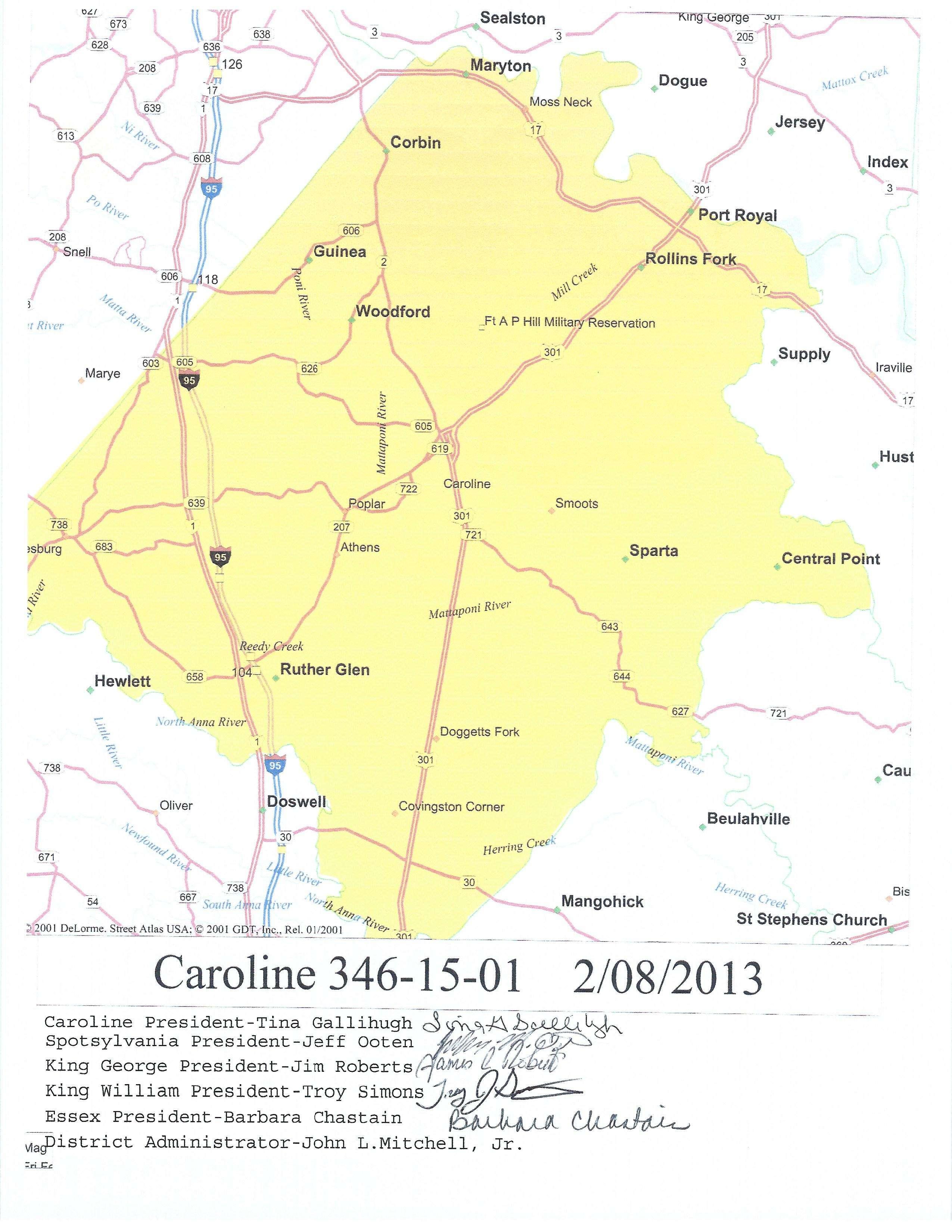 2013 Caroline