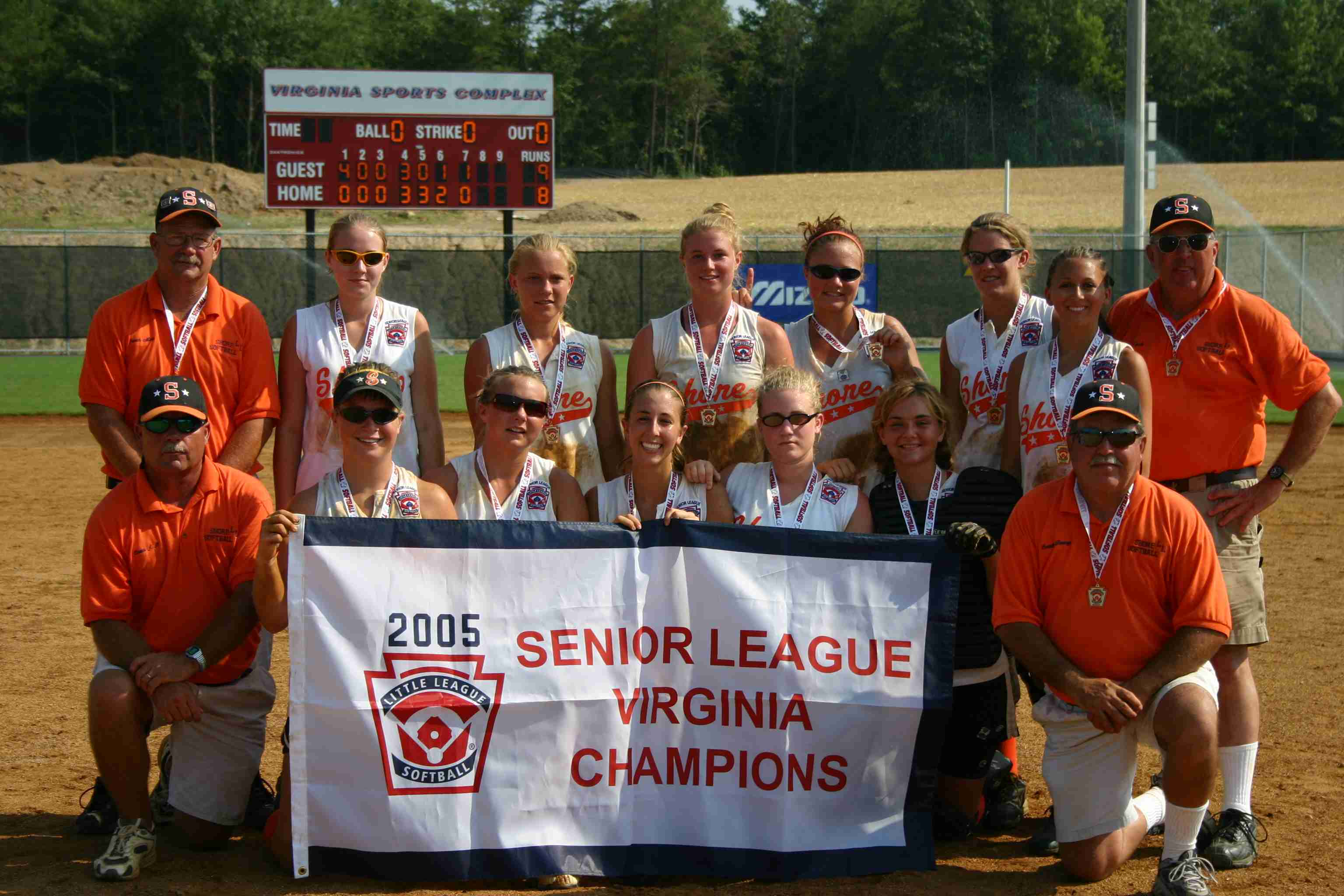 2005 VA Senior Softball Winner