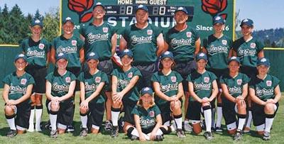 2001 softball