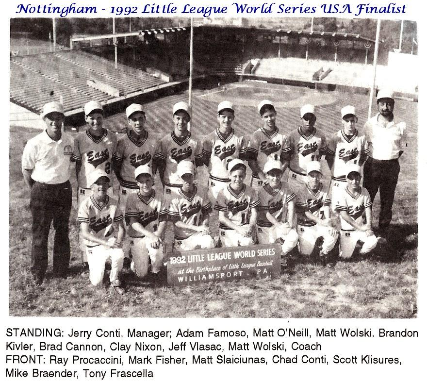 1992 USA Finalist Team at Williamsport.jpg