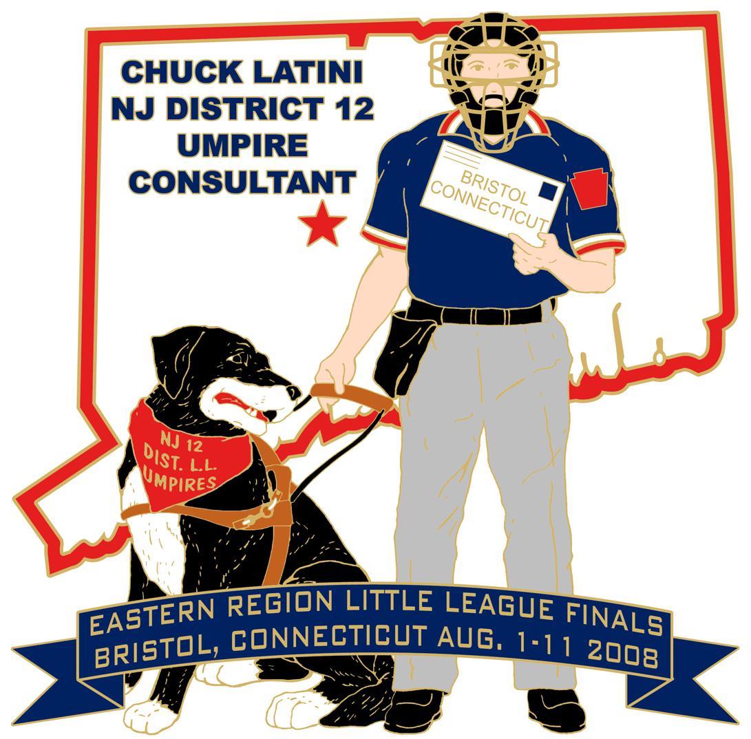Chuck 08  Region Pin