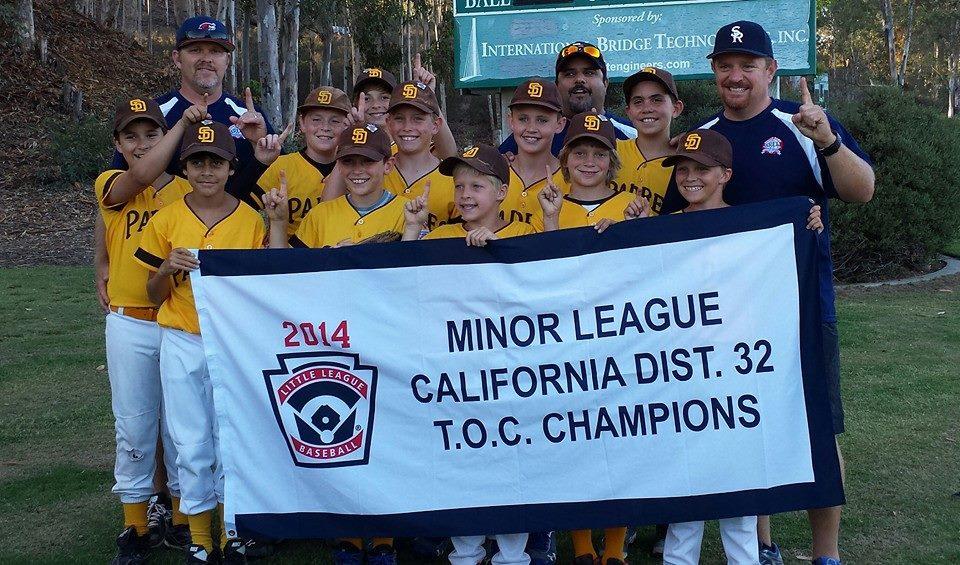 2014 minors toc