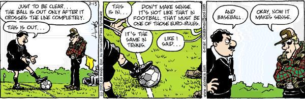 Soccer Ref Cartoon