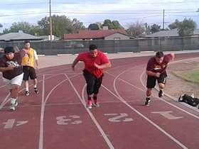Track work w Minter