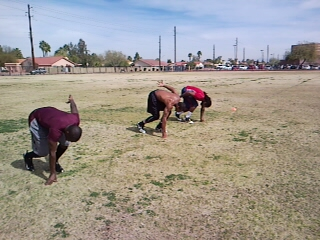 09 NFLC Group 1 Sprint drills