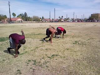 09 NFLC Group 1 Sprint drills