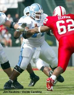Jason Brown UNC blocking