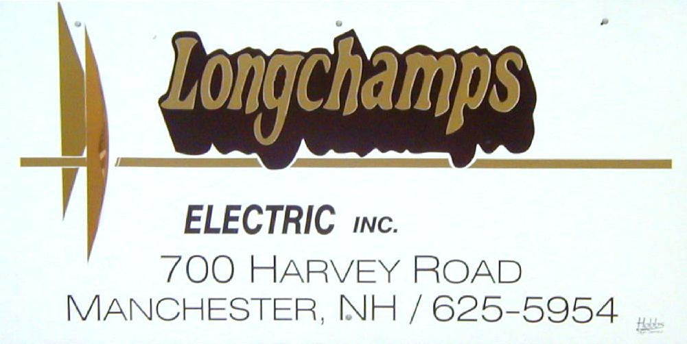Longchamp sign