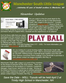 November 2016 Update