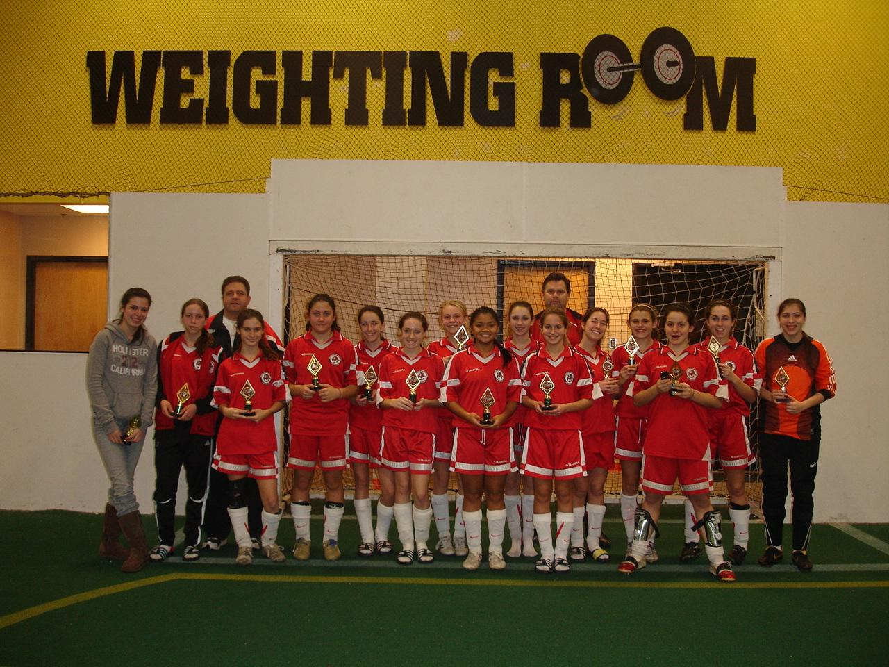 U16 Girls - Forekicks Christmas 2007