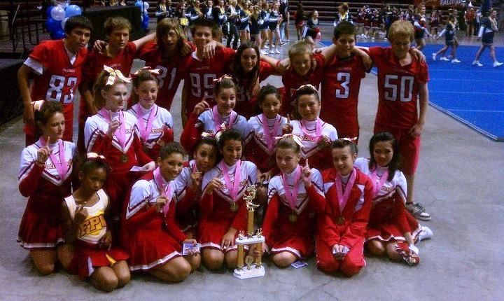 Jr. Midget Cheer 2011