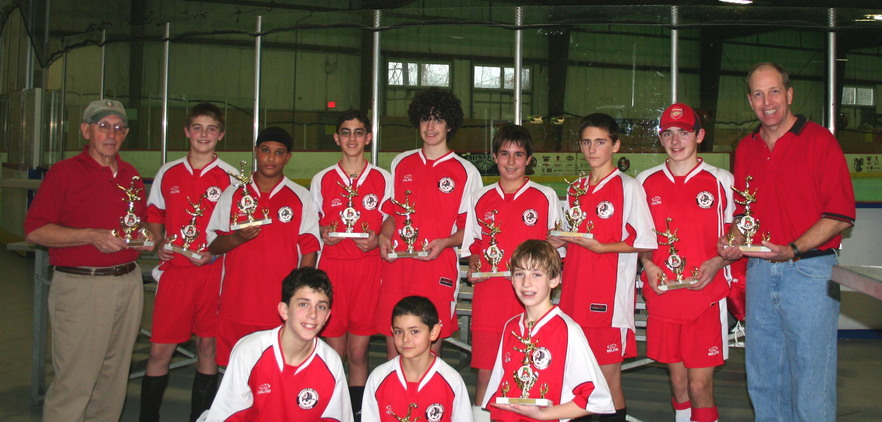 WFFSC U14 Boys 2006 Holiday Tournament